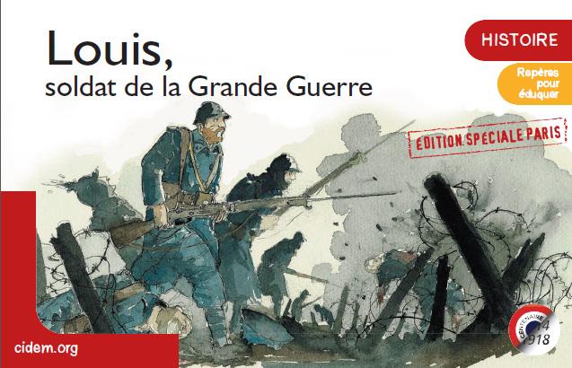 Louis, soldat de la Grande Guerre