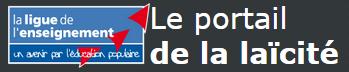 """Logo """"Portail de la laïcité"""""""