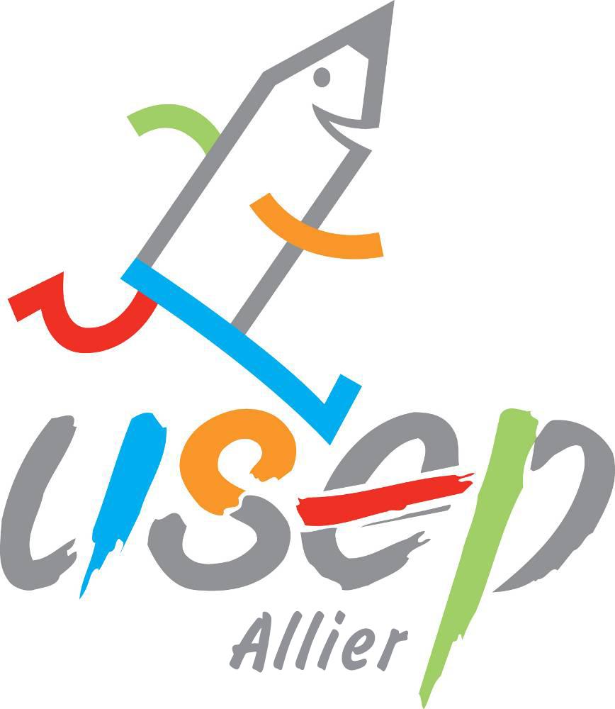 "Logo ""USEP Allier"""