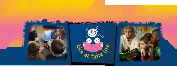"""Bannière """"Lire et faire lire"""""""