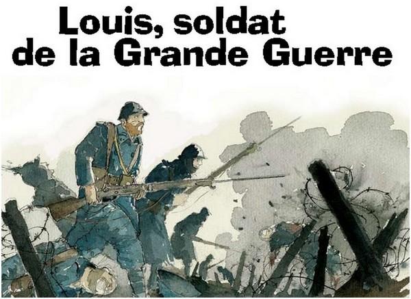 """Bannière """"Louis..."""""""