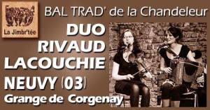 Bal Chandeleur @ Grange de Corgenay