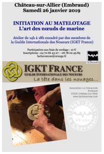 Matelotage @ Chateau Sur Allier (Embraud)