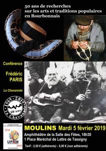 Conférence @ Salle polyvalente de Moulins