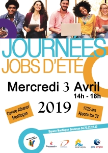 Jobs d'été @ Centre Athanor