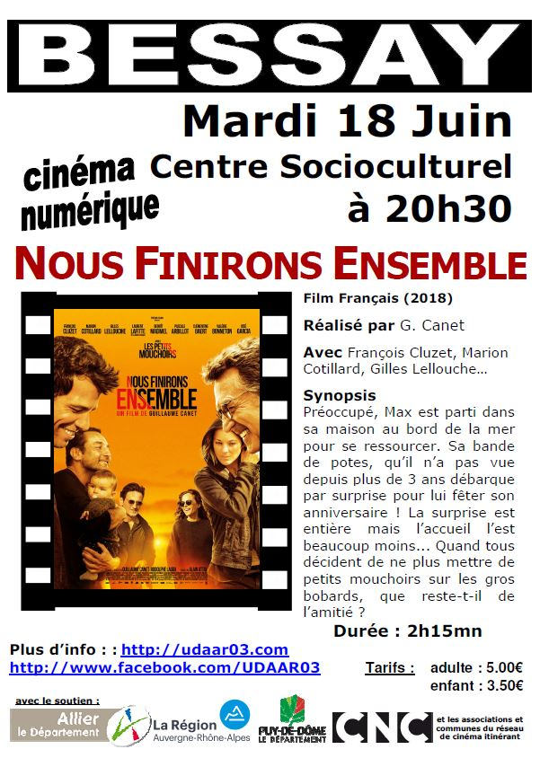 Nous finirons ensemble @ Centre socio-culturel