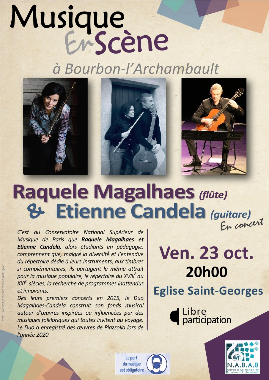 Musique en scène (concert flûte et guitare) @ Eglise Saint-Georges