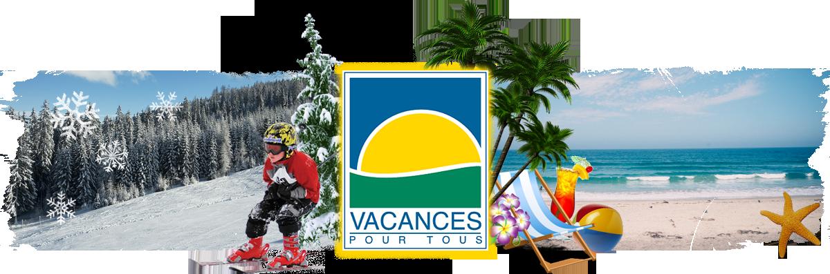 """Bannière """"Vacances pour tous"""""""